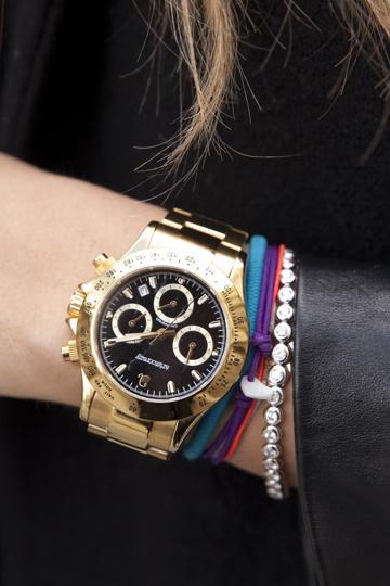 Reloj dorado - TELVA