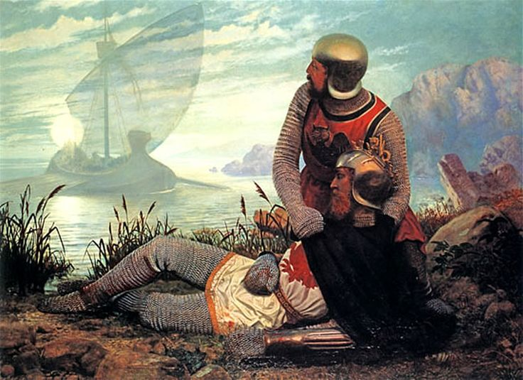The Death of King Arthur by John Garrick - King Arthur - Wikipedia, the free encyclopedia