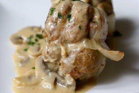 Délicieusement... simple !: Paupiette de veau à la crème & aux champignons