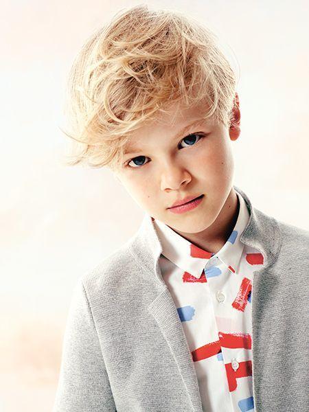 Jongens Kapsels. Foto Dior