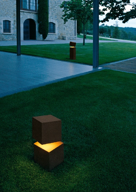 Vibia Design. Finally someone doing something different with outdoor lighting.