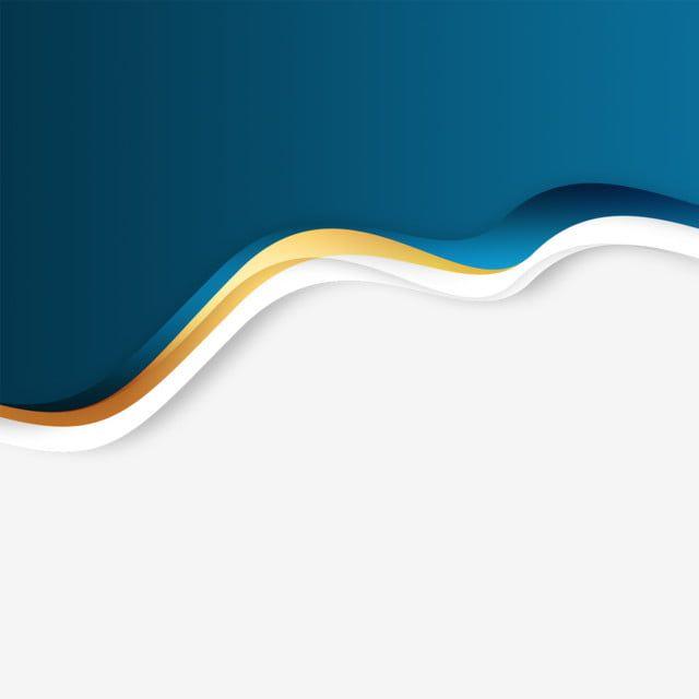 Png Psd Transparent Soft Abstract Curves Waves Gold Blue Header Gold Waves Poster Background Design Visiting Card Design