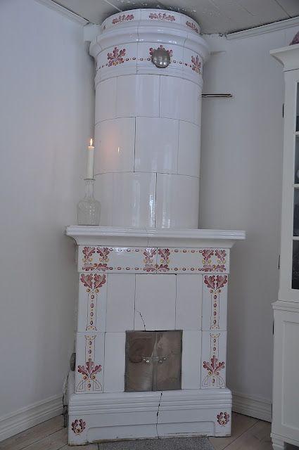 vintage Swedish stove