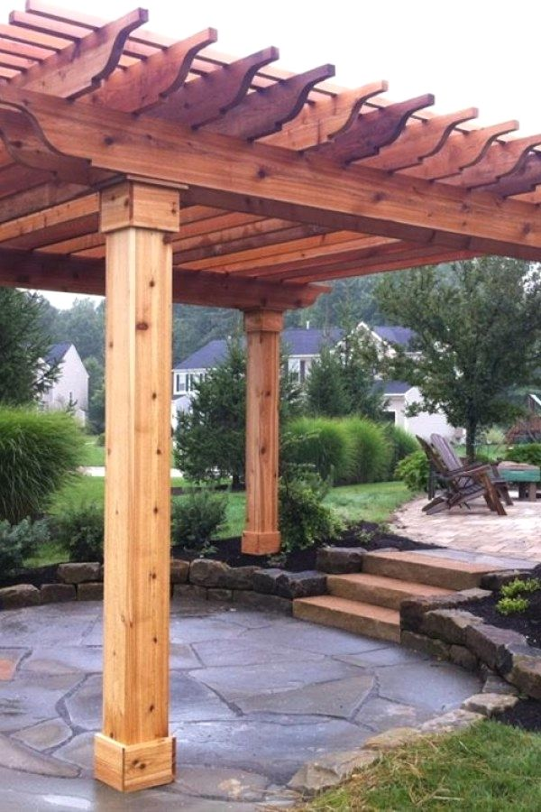 Easy Diy Garden Arbor Projects To Create Yourself To Accent Your Landscape Pergolas Arbors Design No 12692 Outdoor Pergola Pergola Plans Pergola Designs