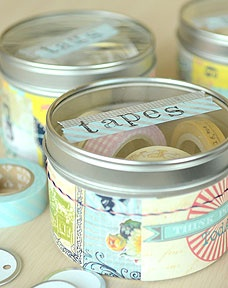 Junque Tins ...can be used to store all types of things (: