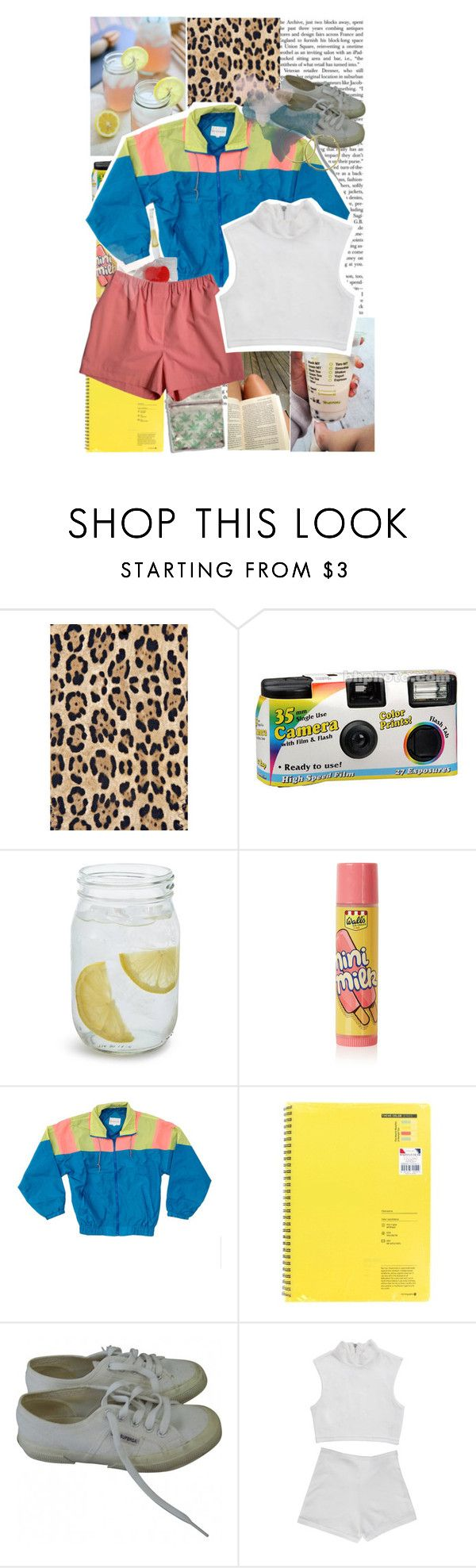 """Louisiana's weather has me d r e a m i n g . . ."" by ony0urside ❤ liked on Polyvore featuring Melissa Odabash, Sur La Table, Topshop, Superga, Summer, yellow and louisiana"