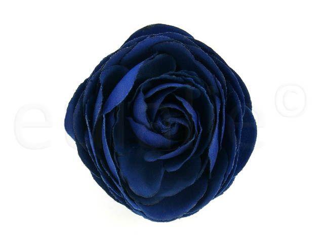 || pioen roos bloem corsage blauw || blue peony rose corsage ||
