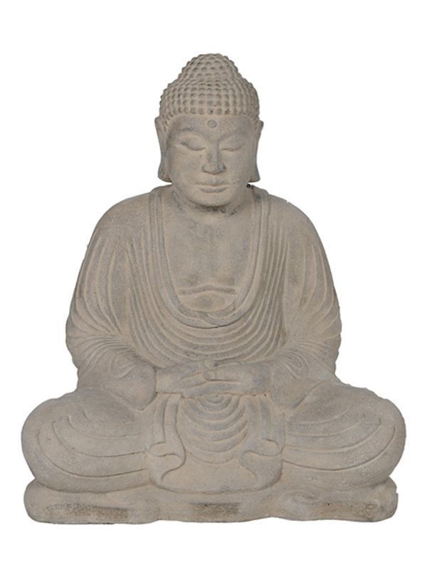 Escultura Buda Meditando em Pedra - R$200,00 - 30cm - Arte & Sintonia - Artes e Decorações - http://www.artesintonia.com.br/escultura-buda-meditando-em-pedra-p-jardim?utm_source=Site&utm_medium=GoogleMerchant&utm_campaign=GoogleMerchant&gclid=CN274dGqxNICFVUIkQodWmAKiA