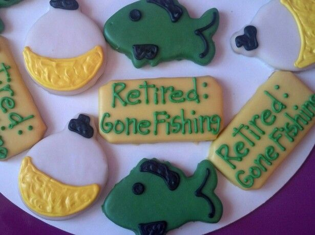 10 best Retirement Decorated Cookies images on Pinterest