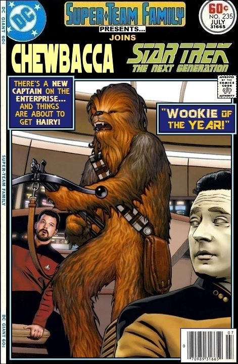Super-Team Family: The Lost Issues!: Chewbacca Joins Star ...