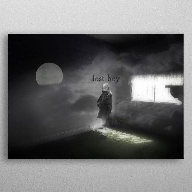 Lost Boy By Aaron Jones Metal Posters Displate Poster Art Wall Art Prints Poster