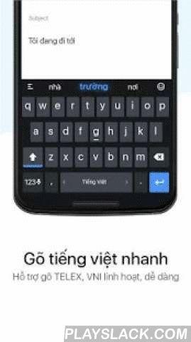Laban Key Go Tieng Viet  Android App - playslack.com ,  Laban Key: Gõ tiếng Việt. See English description further down below.Laban Key - Vietnamese Keyboard là bàn phím, bộ gõ tiếng Việt với khả năng gợi ý từ có độ chính xác cao. Đươc phát triển dựa trên bàn phím chuẩn của Google Keyboard, Laban Key có thiết kế phím hợp lý và tương thích với nhiều thiết bị.Các tính năng chính:- Gõ Telex và VNI chuẩn như UniKey trên PC: bỏ dấu tại bất cứ đâu, tự động ngừng bỏ dấu khi nhập từ không phải tiếng…