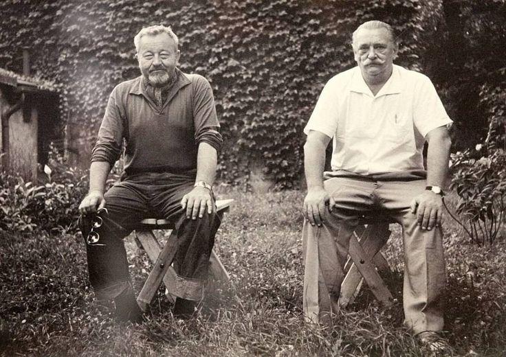 Jiří Trnka a Jan Werich