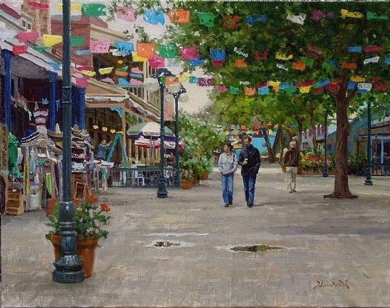 El Mercado by Mark Haworth Oil ~ 16 x 20