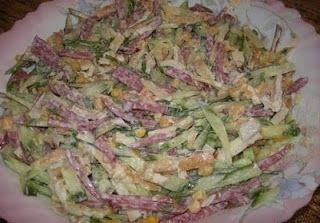 """Самые вкусные рецепты: Салат """"Любимый"""""""
