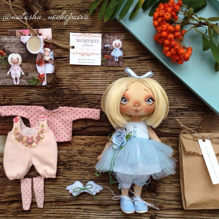 Текстильная кукла  (102 пирожочек) 1. Цена 5800₽ плюс почта. 2. Волосы…