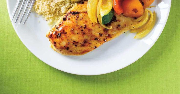 Poulet et légumes au cari 30 minutes