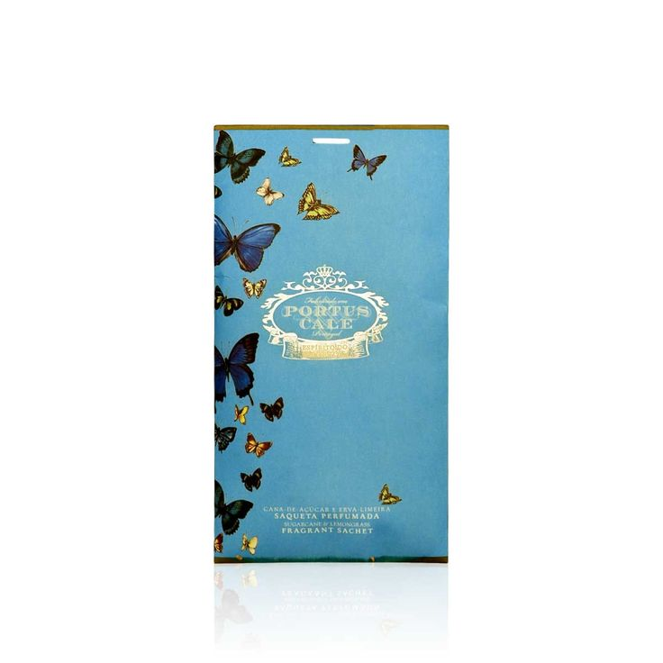 Portus Cale Butterflies Sachet - Bring home this alluring Portus Cale Butterflies sachet to add that exceptional touch and a subtle aroma to your closets, drawers and suitcases while leaving your guests mesmerized with its magical fragrance. #INVHome #LuxuryHomeDecor #InteriorDesign #RoomDecor #Decorations #Decor #INVHomeLinen #Tableware #Spa #Gifts #Furniture #LuxuryHomes #Spa #RoomFresheners