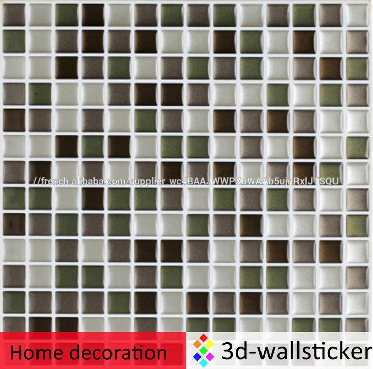 Meilleur étanche PU gel tuile autocollant effet 3D décoration autocollant-image-Tuiles-ID de produit:500008454338-french.alibaba.com