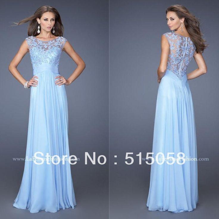 17 migliori idee su Light Blue Lace Dress su Pinterest | Abiti di ...