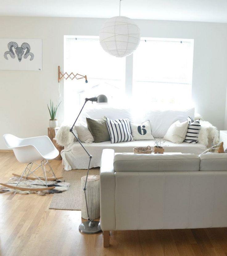 Light livingroom. Siljes blogg