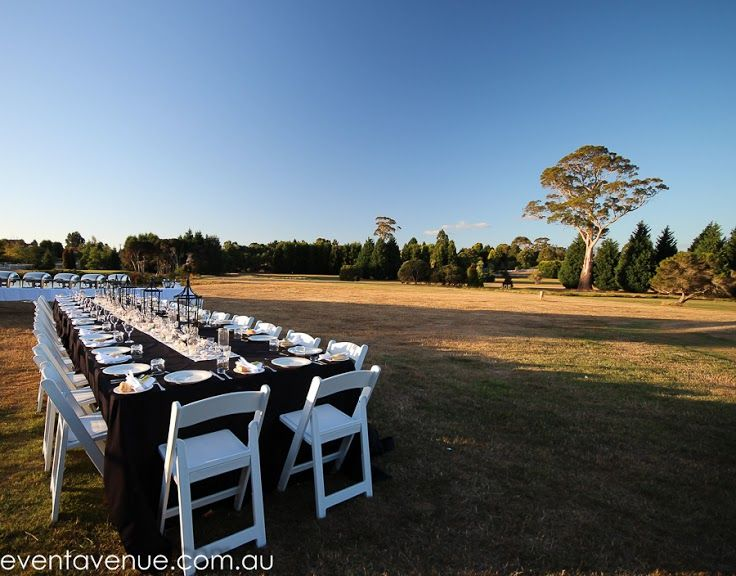 Wedding table long, wedding reception venues -Tamar Valley Resort