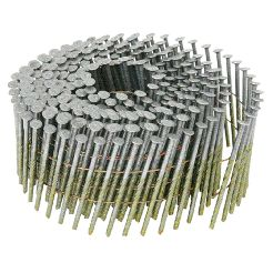 15 Degree Coil Framing Wire Collated Hot Dipped Galvanized Nails For use with most 15 Degree Coil Framing Nailers manufactured by:  Bostitch Craftsman Duo-Fast Grip-Rite Hitachi Max Paslode Porter-Cable Senco