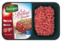 Bifteck haché pur boeuf 5% de matière grasse