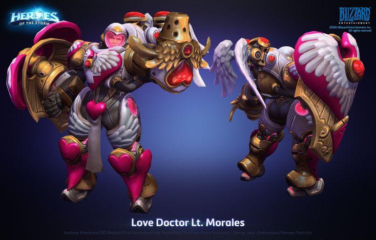 ArtStation - Lt Morales Love Doctor Skin, Andrew Kinabrew