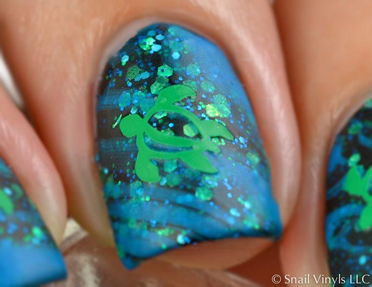 Turtle Nail Decal Macro
