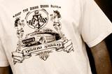 Men's T-Shirt    dieingbreedapparel.com  (hot rod, rat rod, rockabilly, rockabilly clothing, work shirt, button up, greaser, greaser clothing, 1950's inspired))