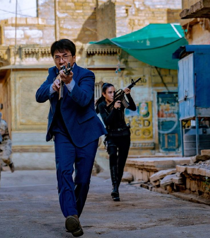 The Blind Ninja - Jackie Chan New photo from Vanguard(2020 ...