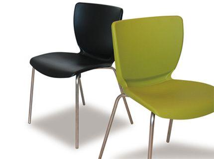 Inox Visitor Chair Street Furnitureoffice