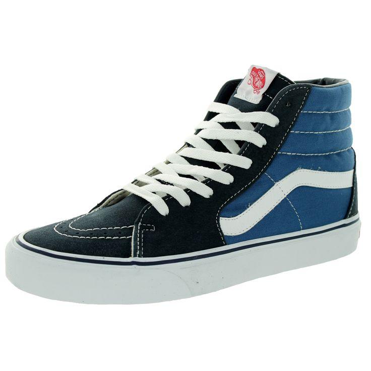 Vans Unisex Sk8-Hi Navy Skate Shoe   Shoes   Pinterest ...