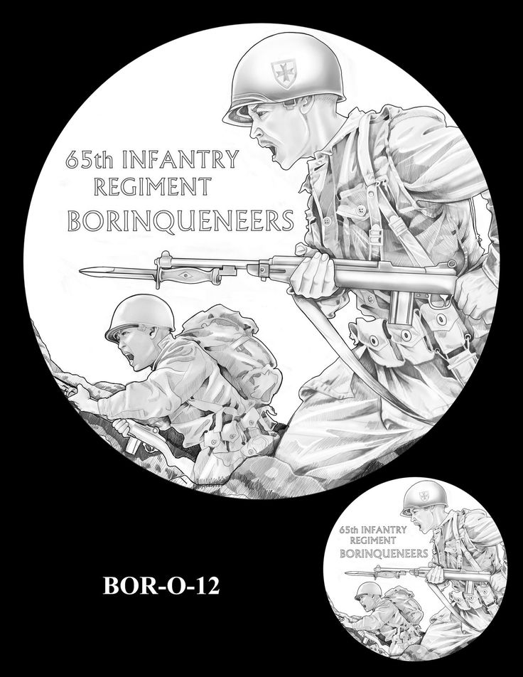 """65th Infantry Regiment """"Borinqueneers"""" Congressional Gold Medal ..."""