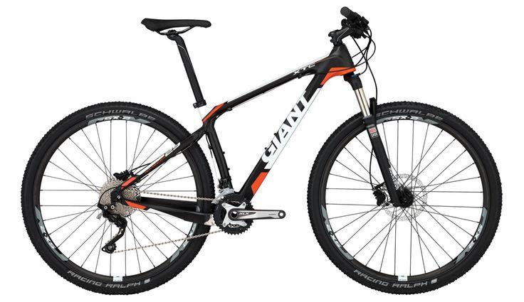 Giant XtC Advanced 29er 2 LTD Mountainbike orange - till fenomenalt pris på Bikester