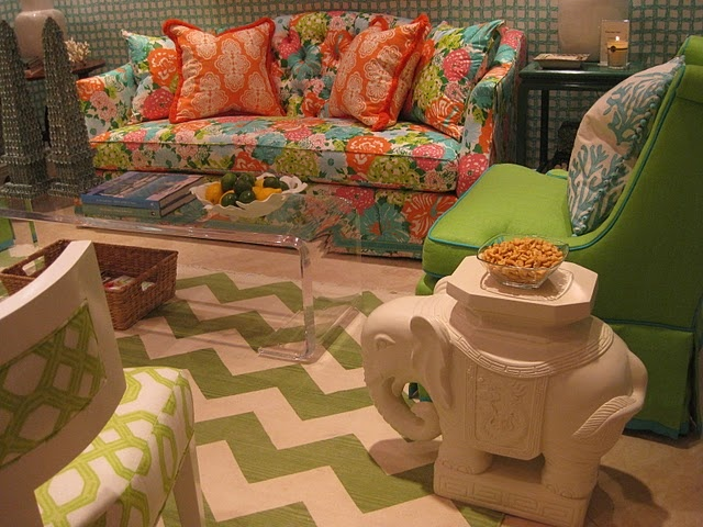 Lilly Pulitzer Blogfest 2011 via  lizorgera. 33 best Lily Pulitzer Interiors images on Pinterest
