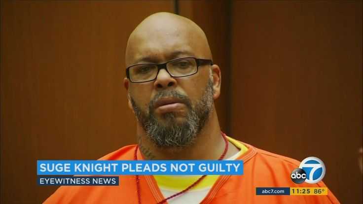 Suge Knight pleads not guilty to threatening Straight Outta Compton director