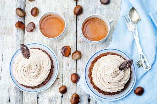 Gaštanové košíčky - Recept pre každého kuchára, množstvo receptov pre pečenie a varenie. Recepty pre chutný život. Slovenské jedlá a medzinárodná kuchyňa