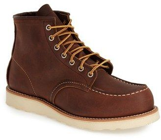 Men's Red Wing 6 Inch Moc Toe Boot Currently on Sale