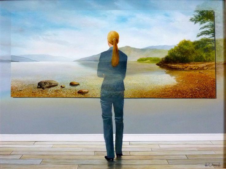 Иллюзии маслом. На картинах британского художника Ника Саймона все не так, как кажется на первый взгляд