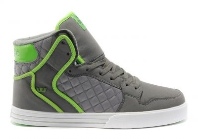 Supra Vaider Shoes Grey Green White [Supra Vaider Shoes] - $78.00 : Cheap Supra Shoes For Sale Online, cheap supra shoes,buy cheap supra shoes,new supra shoes 2013