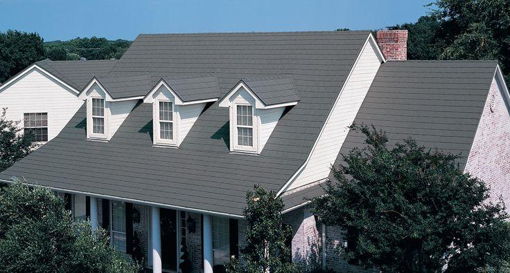 MetalWorks® AstonWood® in Sierra Slate Grey #shingles #steelshingles #homeimprovement