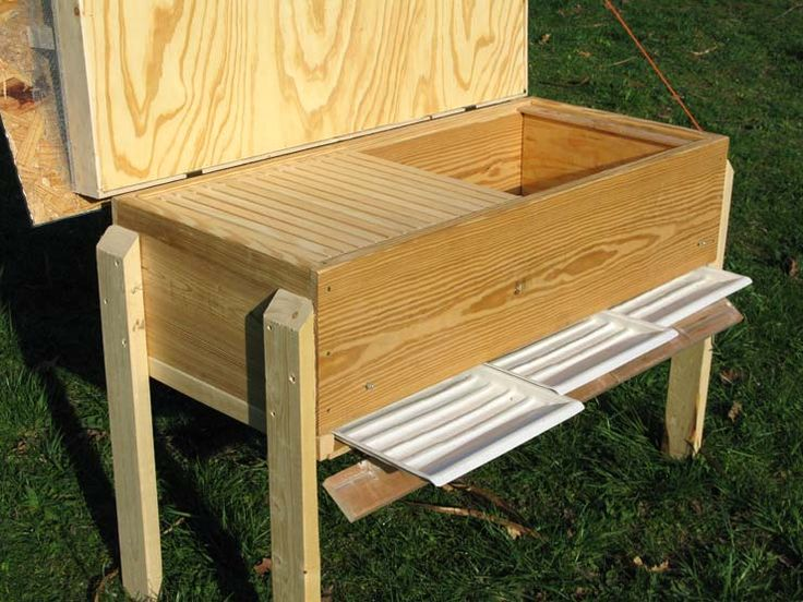 Screened bottom for long hives free plans natural for Beehive plans blueprints