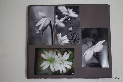 Kipakka kipinöi, kuvaa ja kutoo: yksityinen taidenäyttely
