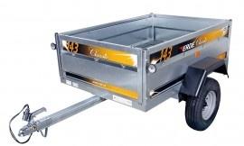 Wolder Remolque ocio · Erdé 143 Competitivo  Remolque de tamaño mediano con prestaciones de remolque grande a precio muy competitivo.