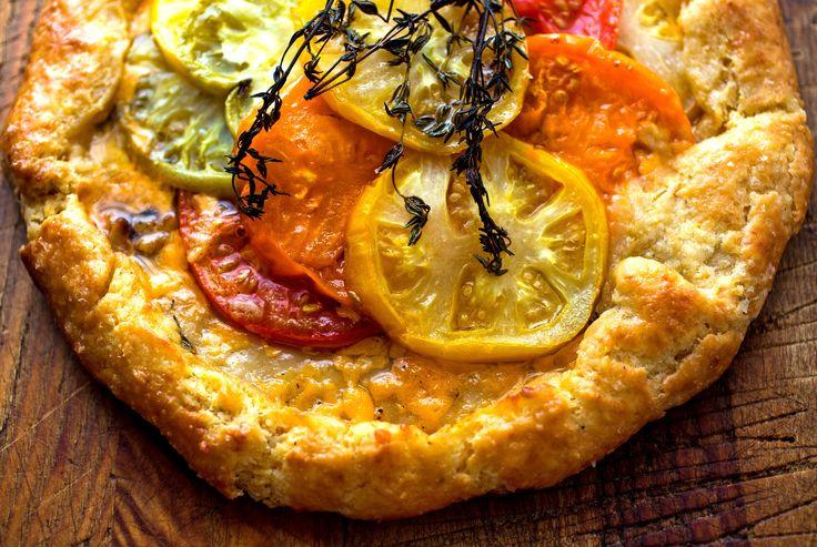 NYT Cooking: Tomato Crostata With Honey-Thyme Glaze
