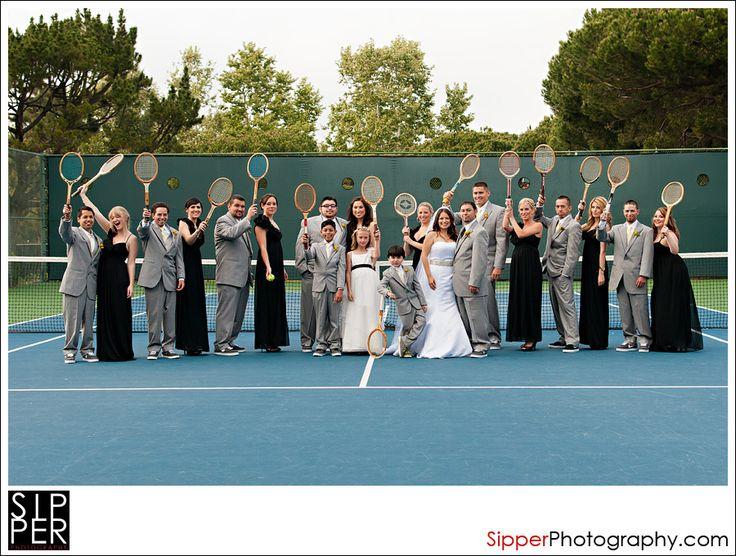 vintage tennis wedding - Google Search