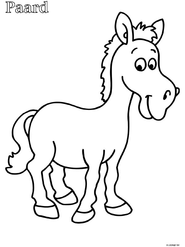 kleurplaat paard zoeken kleurplaten