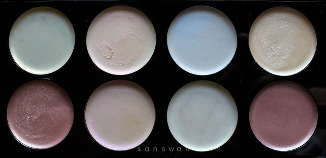 MakeUp Revolution - Ultra Strobe Balm Palette